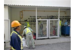 Thi công hệ thống gas cho nhà máy